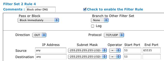 open dns how to block