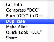 Duplicate the keynote file