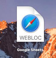 how to add google calendar to dock